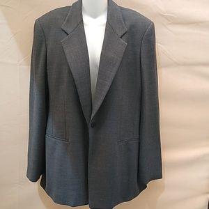 Vintage NWOT Donna Karen Signature Gray Blazer